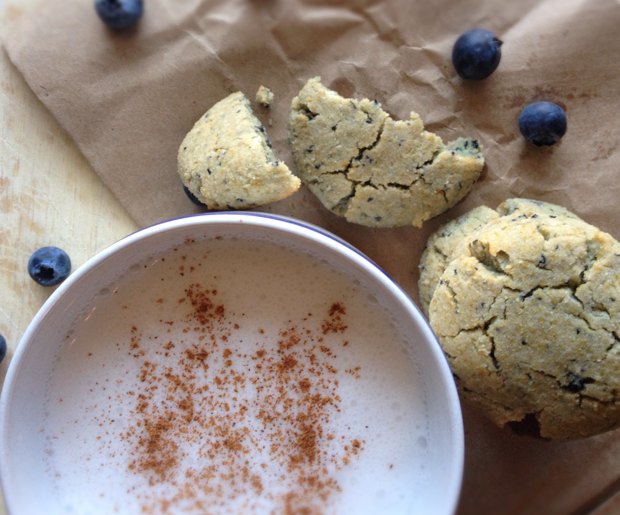 Blueberry muffin cookies paleo