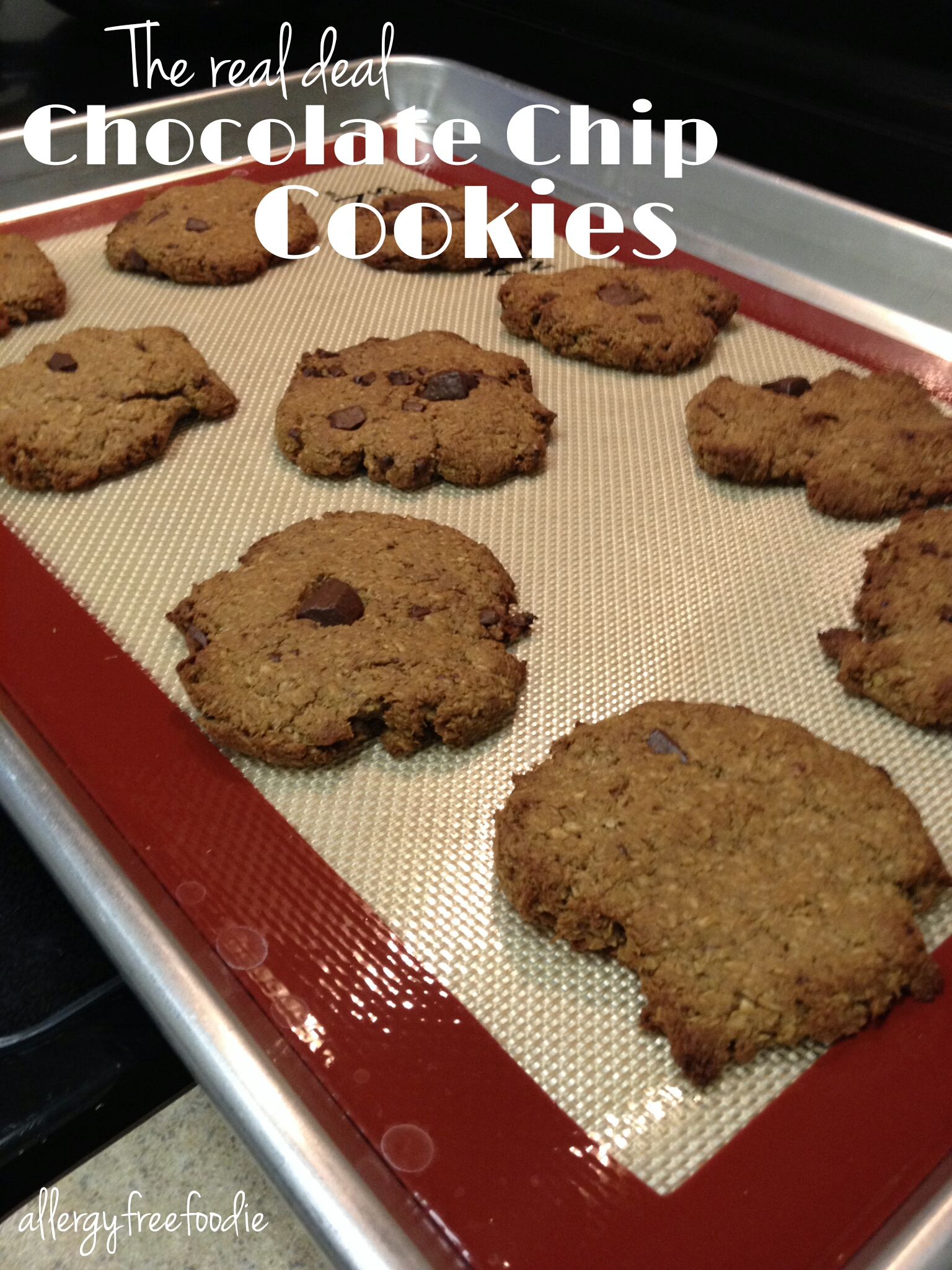 the real deal choc chip cookies- title