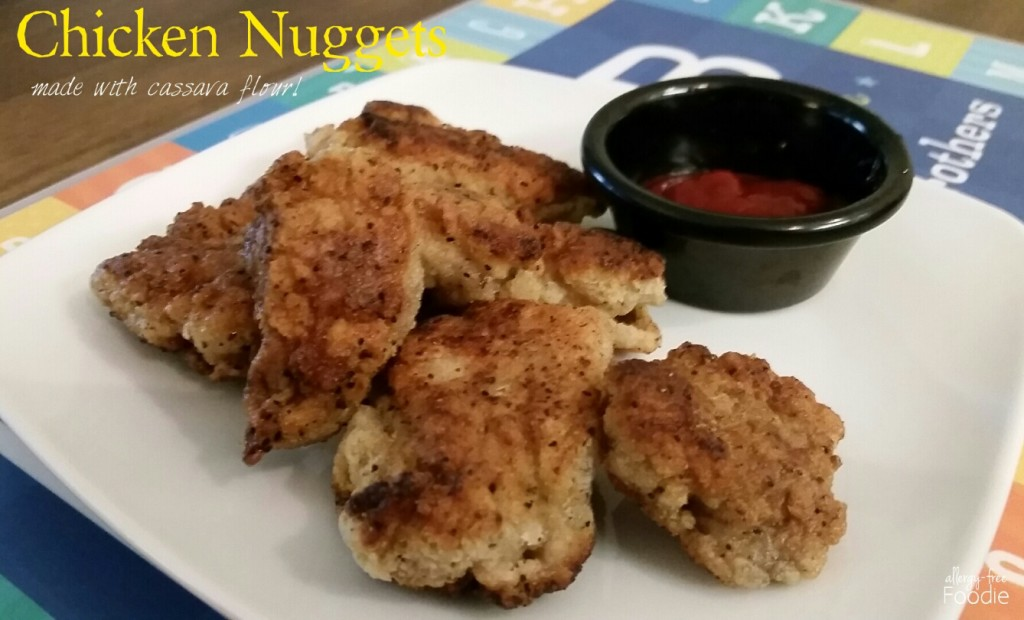 Chicken Nuggets with title