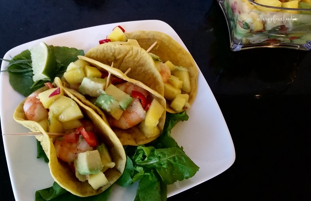 Enjoy! Shrimp Tacos!