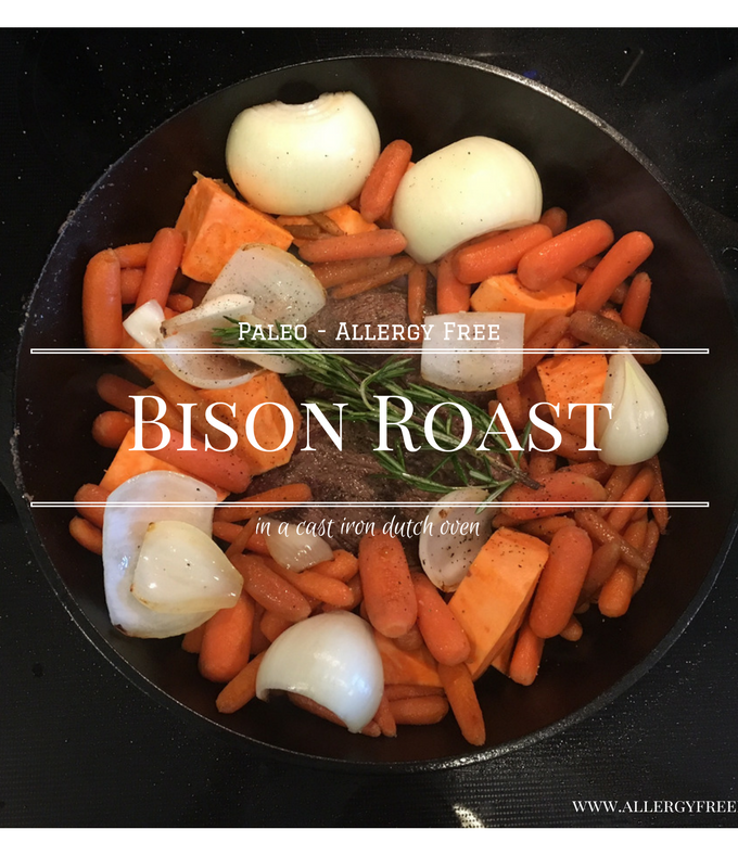 Allergy free foodie paleo friendly recipes for famlies with food bison roast with veggies forumfinder Image collections